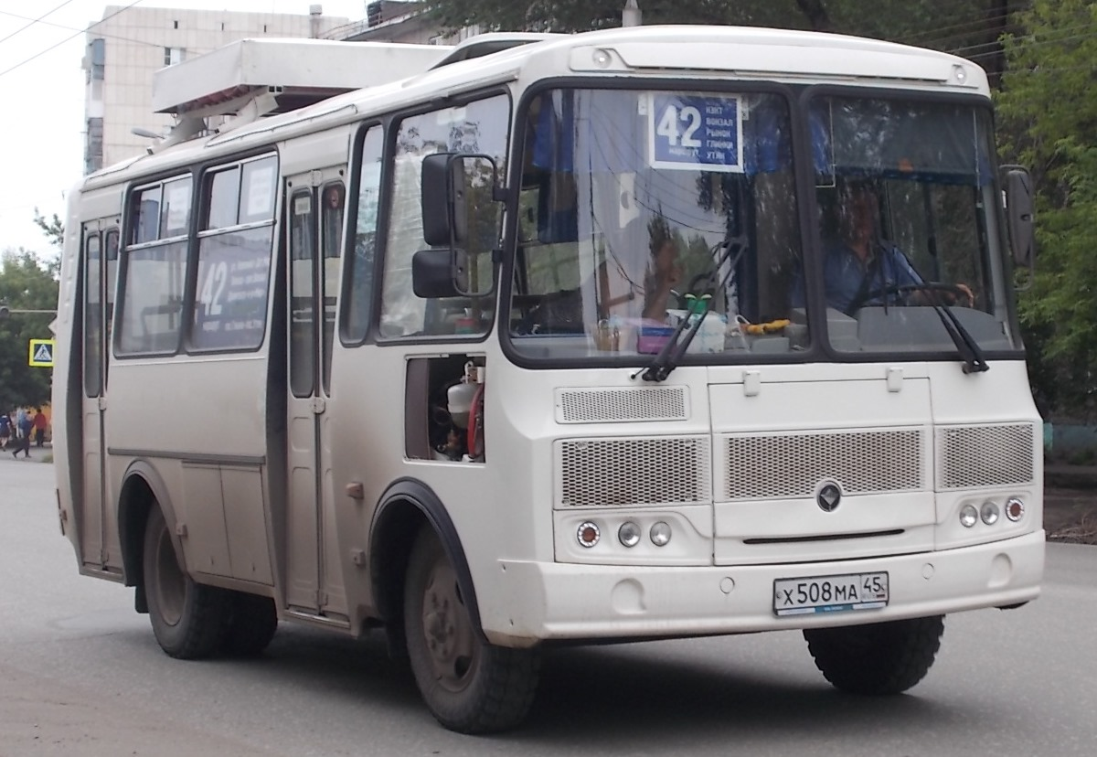 Курган. ПАЗ-32054 х508ма