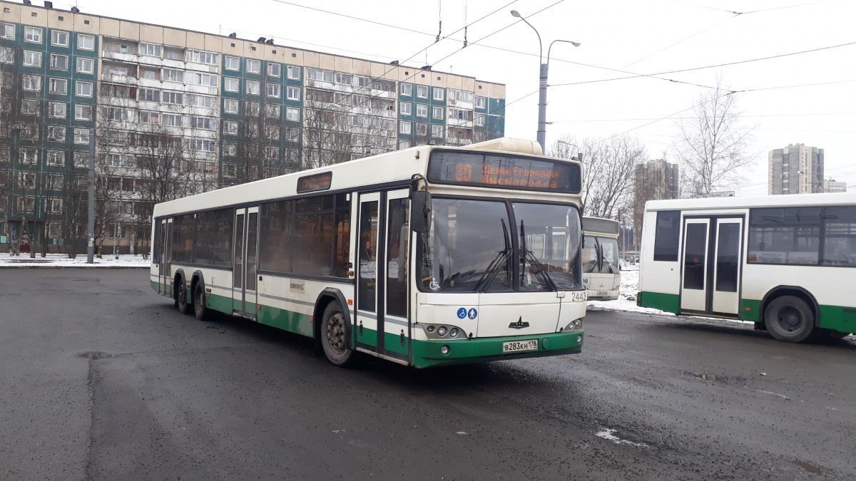 Санкт-Петербург. МАЗ-107.466 в283кн