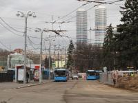 Москва. Закрытая для троллейбусов конечная станция ВДНХ-Южная