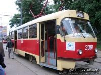 Москва. Tatra T3 (МТТЧ) №3381