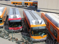 Лос-Анджелес. New Flyer XN40 №6047, New Flyer XN40 №6026