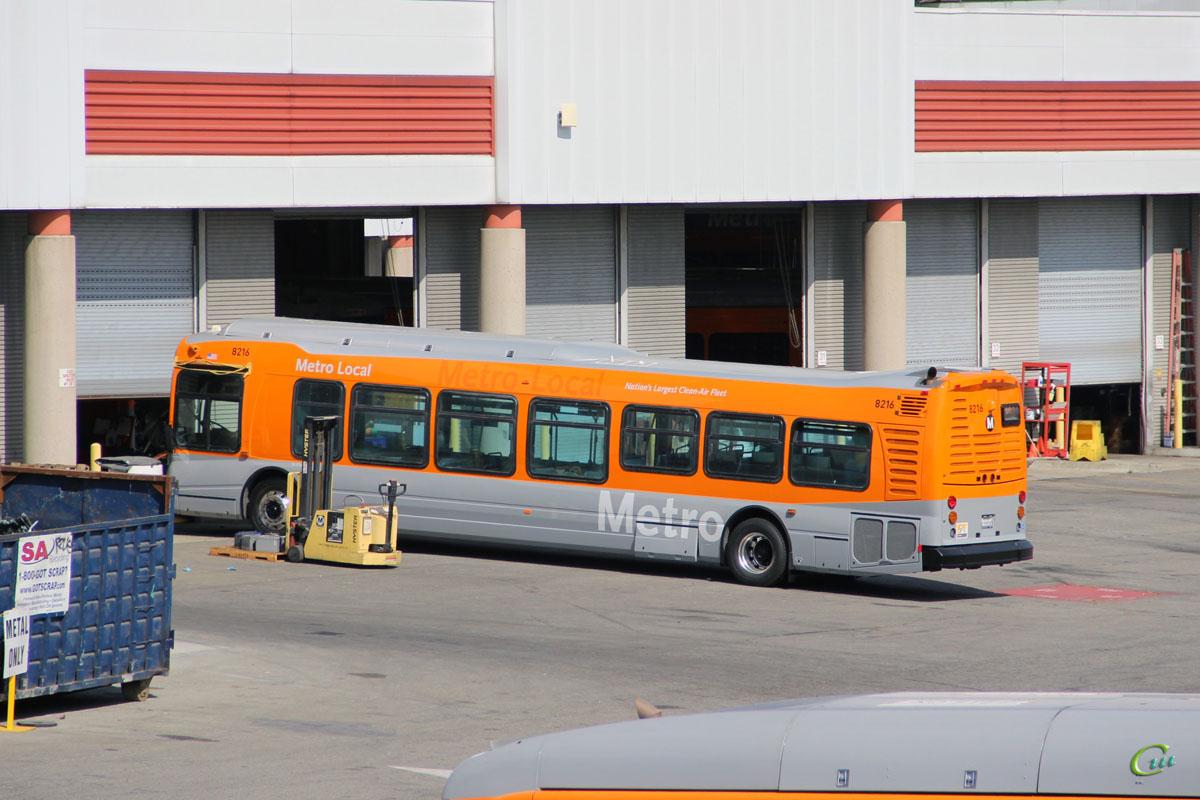 Лос-Анджелес. NABI Metro 45C 1339200