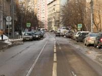 Москва. Недействующие трамвайные пути на улице Гиляровского