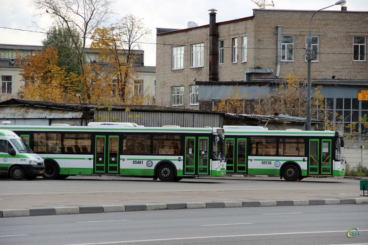 Москва. ЛиАЗ-5292.21 с540рх, ЛиАЗ-5292.22 о801хе