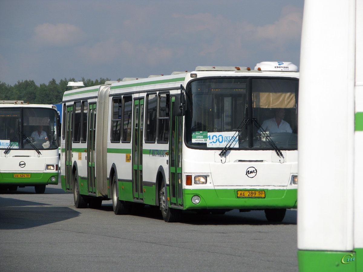 Жуковский. ЛиАЗ-6212.01 ае289