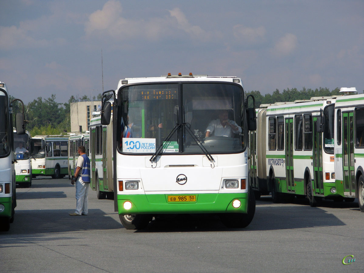 Жуковский. ЛиАЗ-6212.01 ев985
