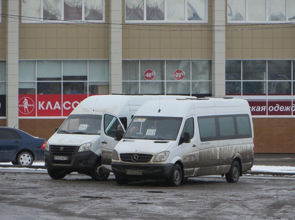 Курган. Mercedes Sprinter 311CDI с139кв, ГАЗель Next р972мв