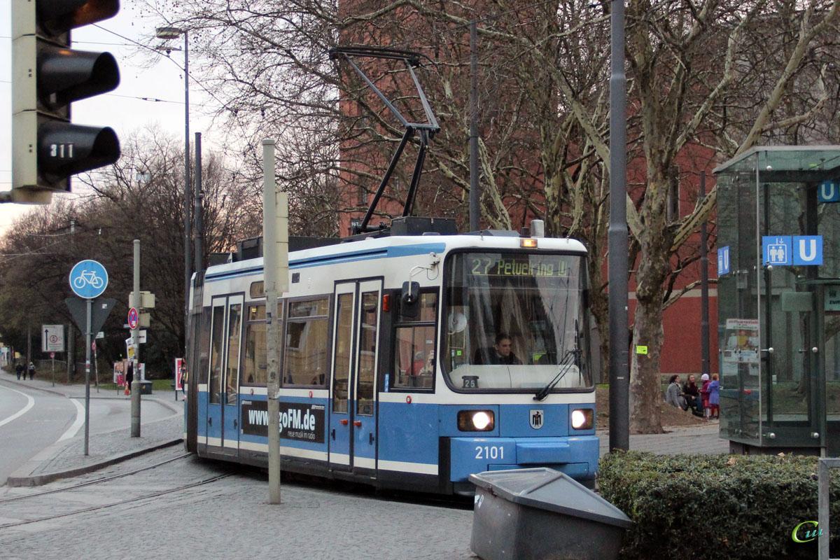 Мюнхен. AEG R2.2 №2101