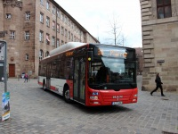 Нюрнберг. MAN A21 Lion's City NL273 CNG N-TX 350
