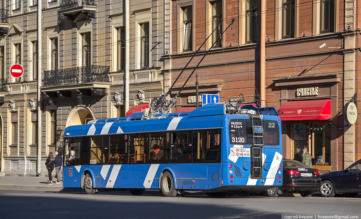 Санкт-Петербург. АКСМ-32100D №3120