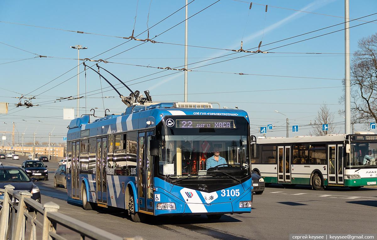 Санкт-Петербург. АКСМ-32100D №3105