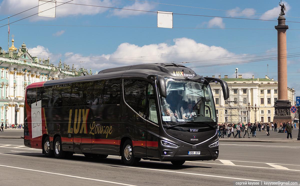 Санкт-Петербург. Irizar i8 068 BTP