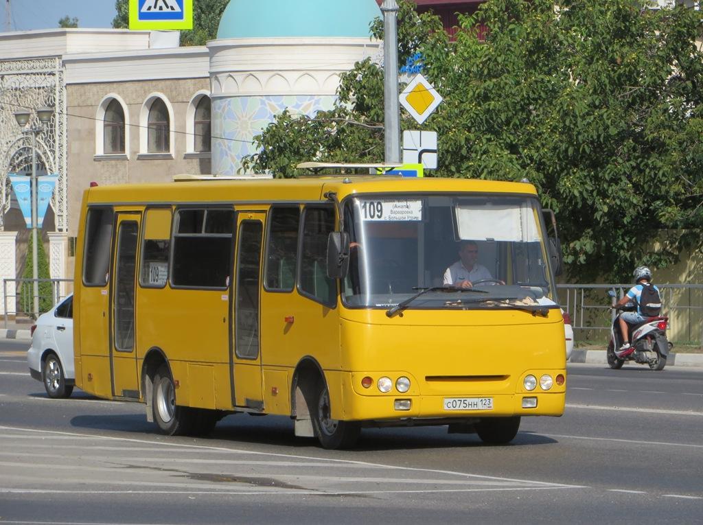 Анапа. Богдан А09204 с075нн