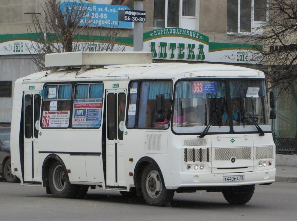 Курган. ПАЗ-32054 т440ма