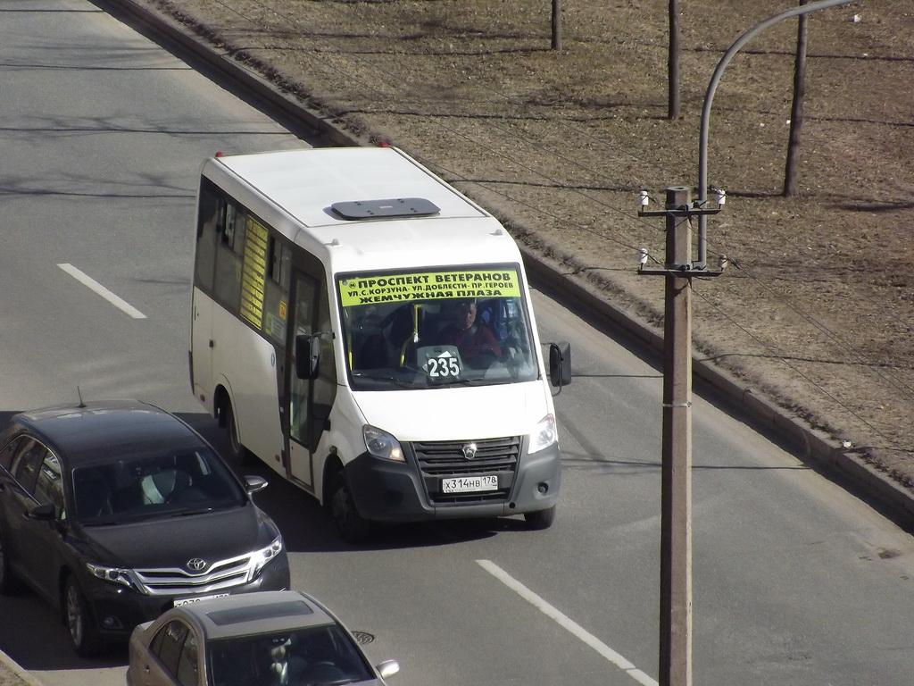 Санкт-Петербург. ГАЗель Next х314нв