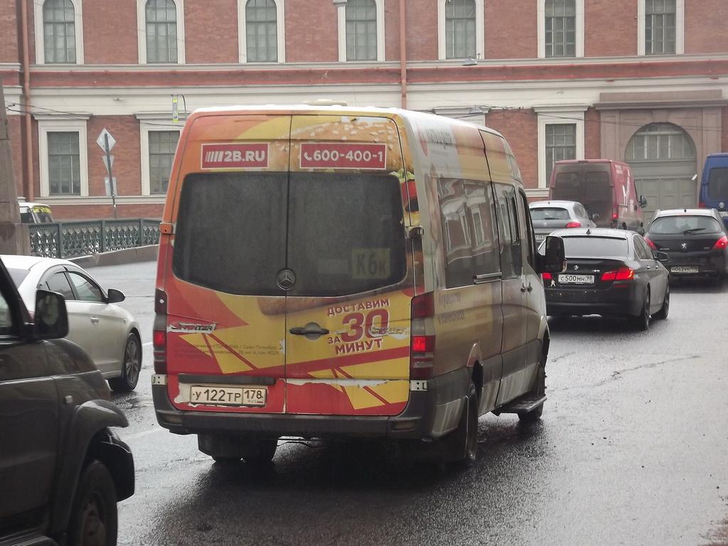 Санкт-Петербург. Луидор-2236 (Mercedes-Benz Sprinter) у122тр
