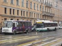 Санкт-Петербург. ЛиАЗ-5292.71 в815со, ПАЗ-320412 в405мо