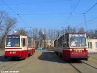 Санкт-Петербург. ЛВС-86К №8148, ЛВС-86К №8181