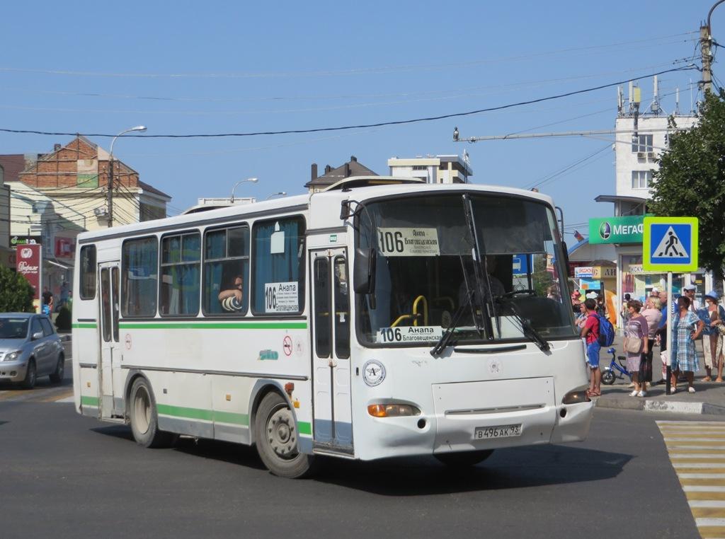 Анапа. ПАЗ-4230-03 в496ак