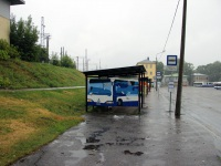 Рига. Автобусная остановка