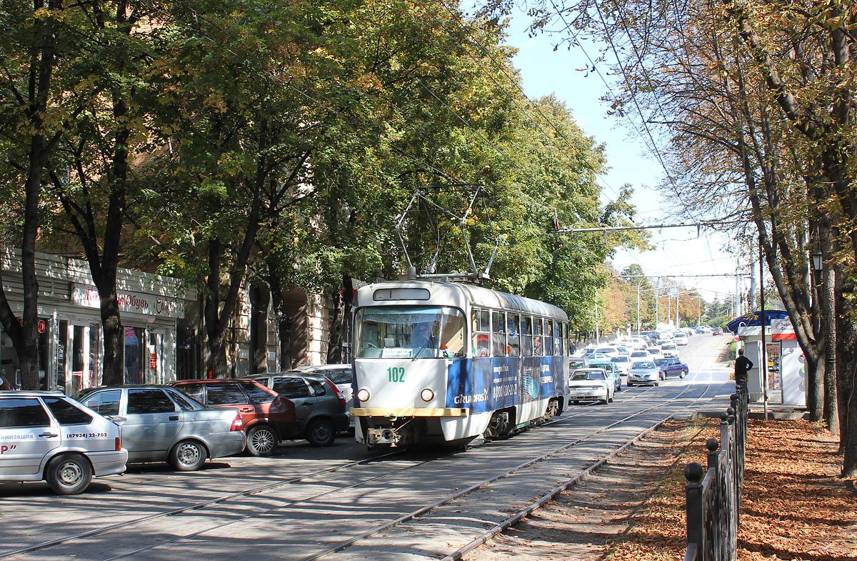 Пятигорск. Tatra T4D №102