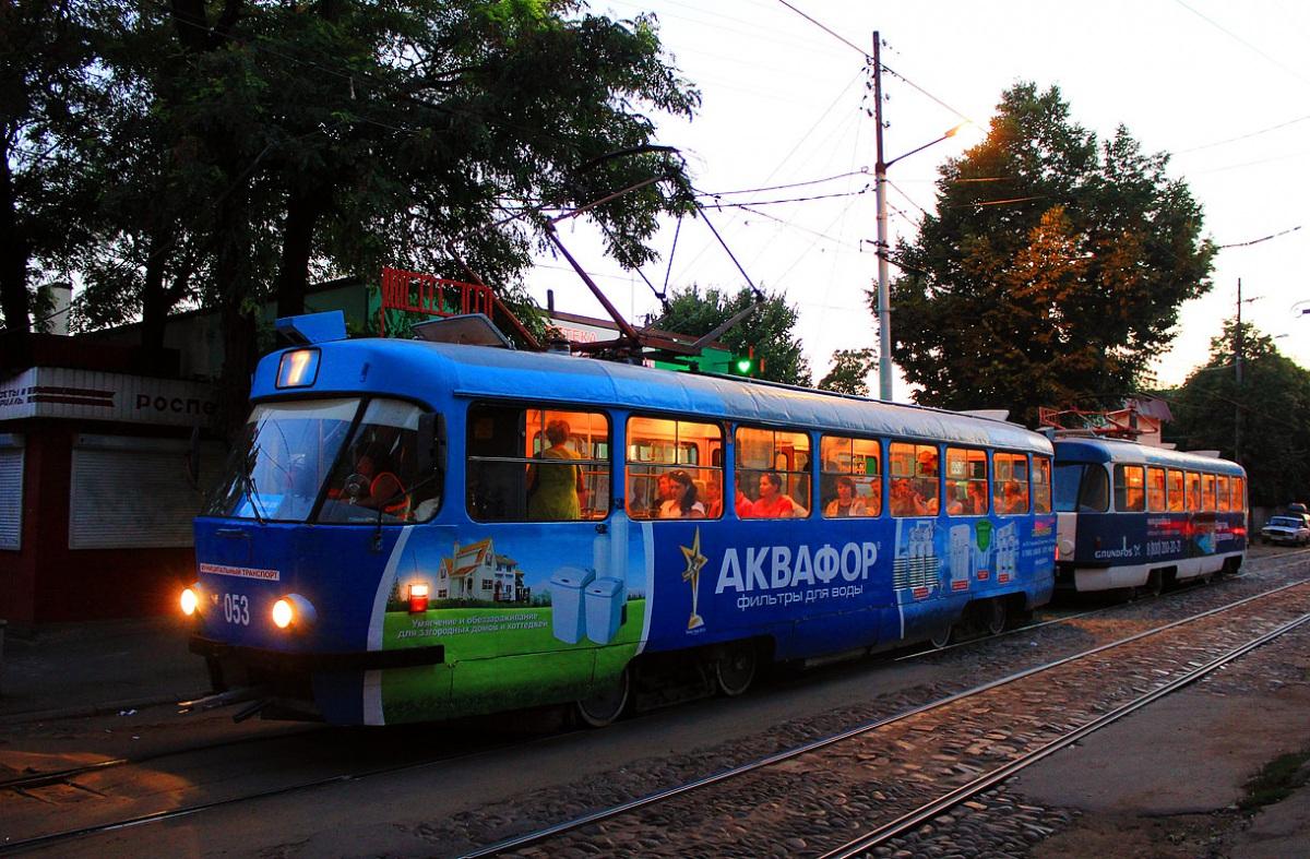 Краснодар. Tatra T3SU №053
