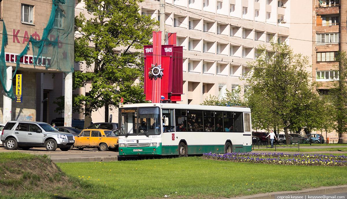 Санкт-Петербург. НефАЗ-52994-40-42 в141не