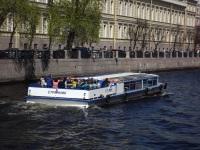 Санкт-Петербург. Пассажирский экскурсионный теплоход Странник