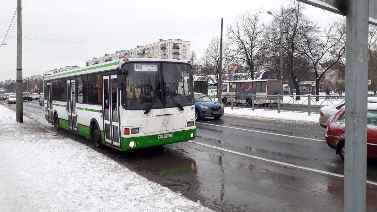 Санкт-Петербург. ЛиАЗ-5293.60 в191он