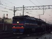 Санкт-Петербург. 2ТЭ116-524