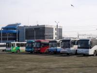 Челябинск. Автобусы на к/ст Железнодорожный вокзал