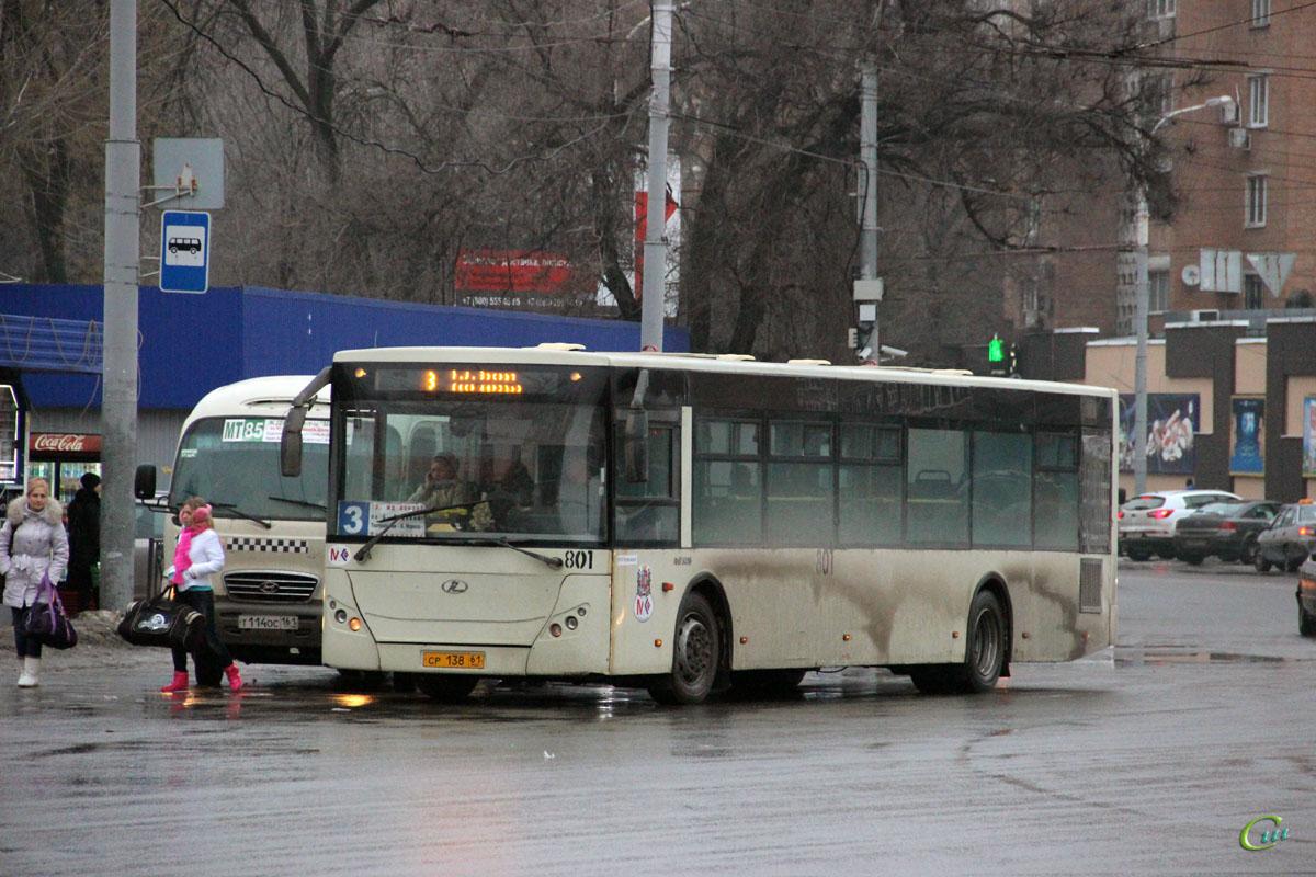 Ростов-на-Дону. РоАЗ-5236 ср138, Hyundai County Super т114ос