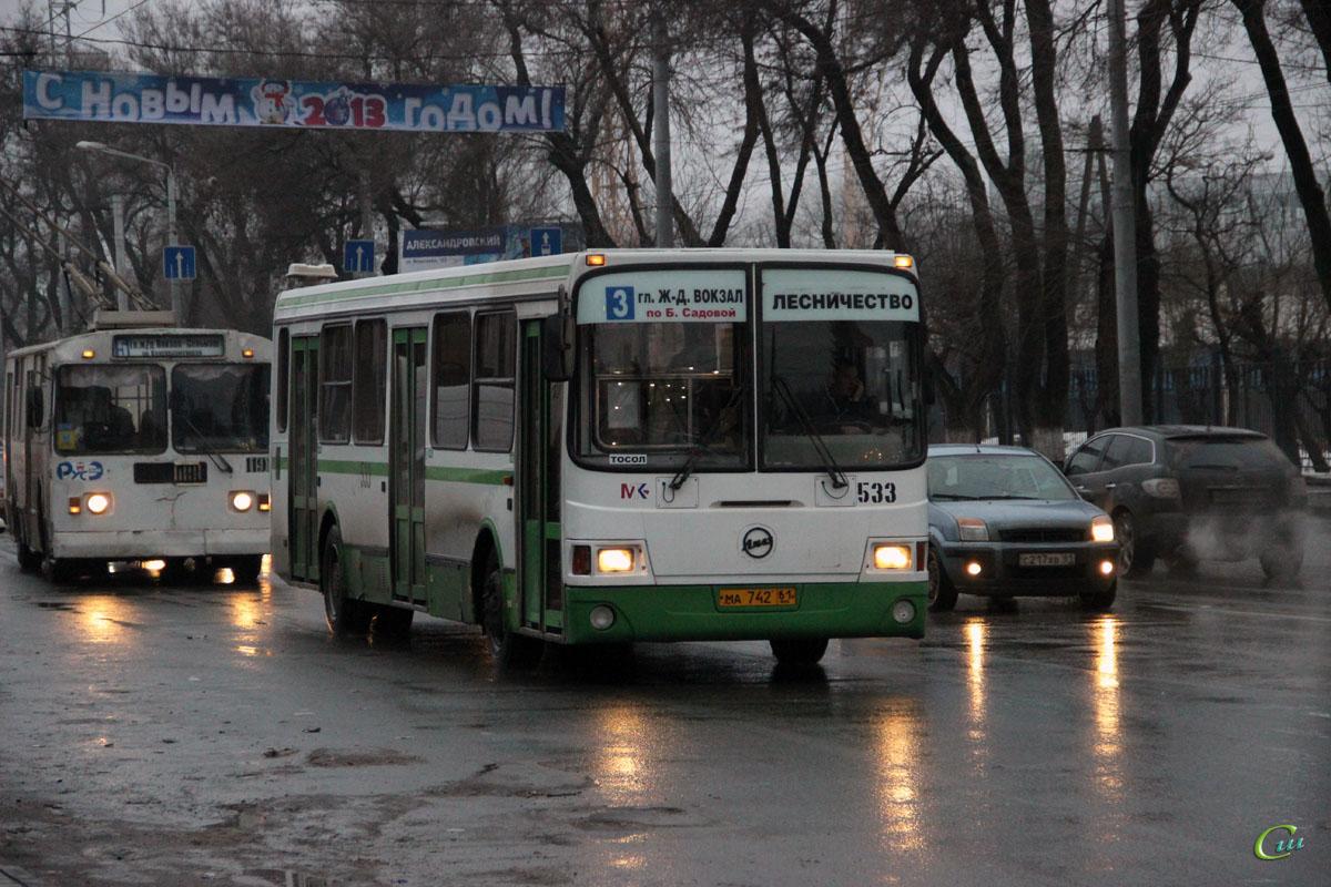 Ростов-на-Дону. ЛиАЗ-5256.45 ма742