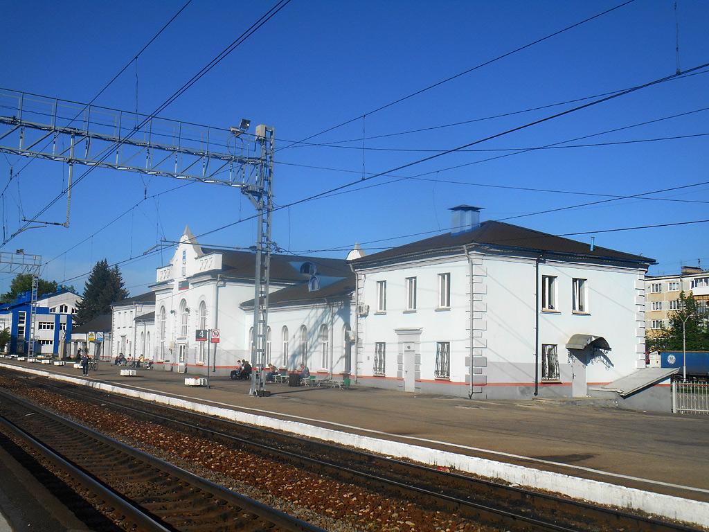 Калуга. Здание вокзала