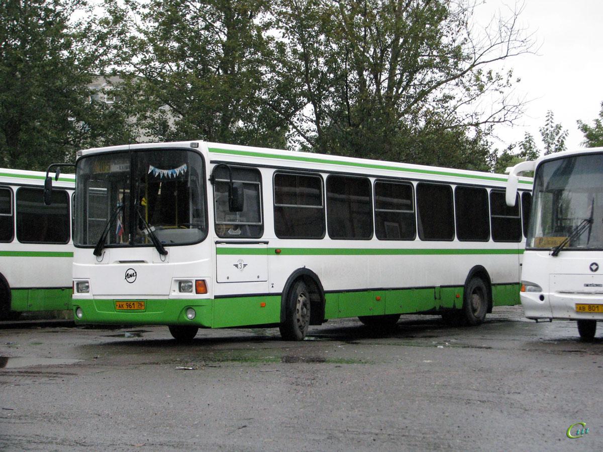 Рыбинск. ЛиАЗ-5256.36-01 ак961