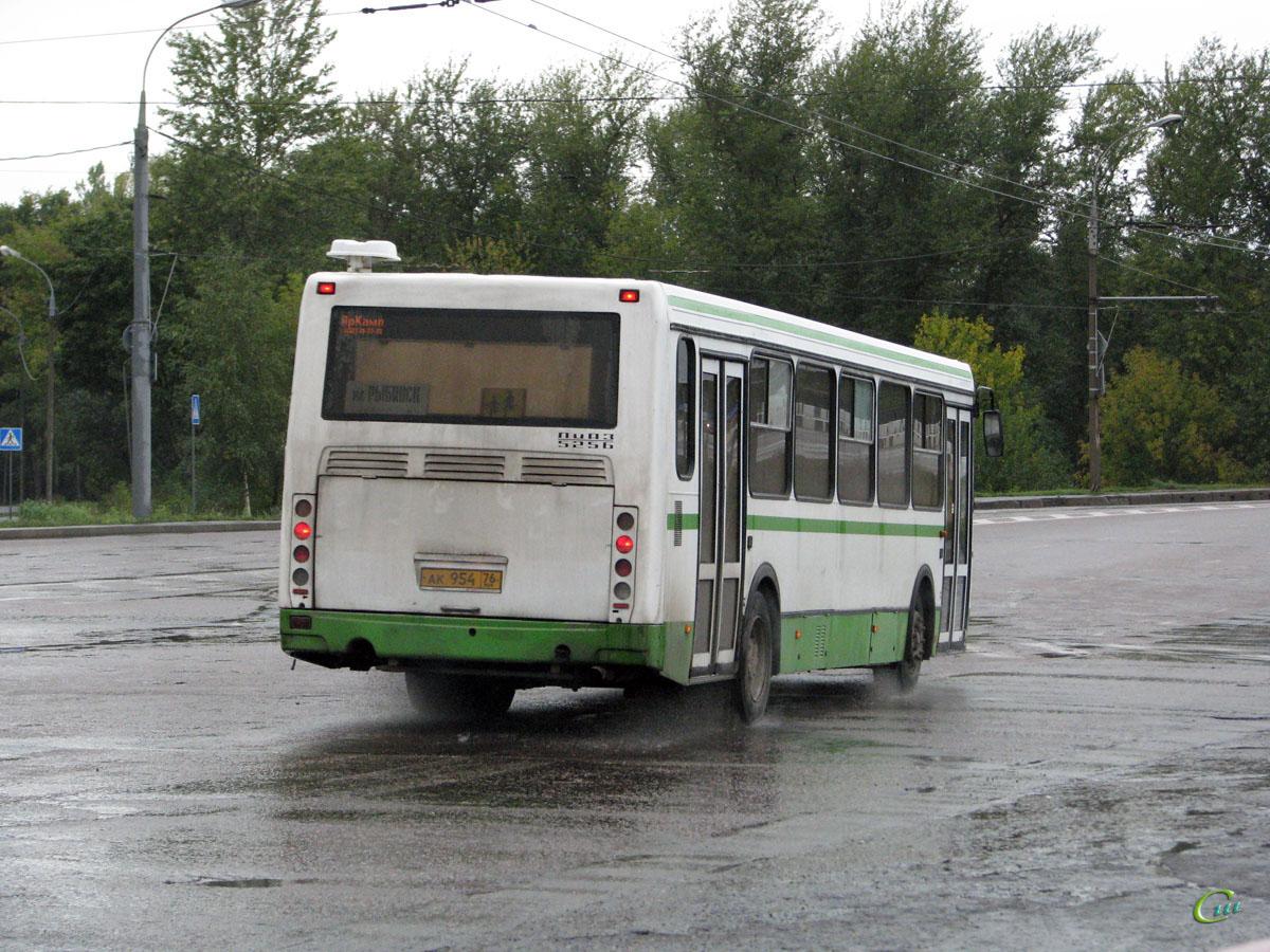 Рыбинск. ЛиАЗ-5256.36-01 ак954