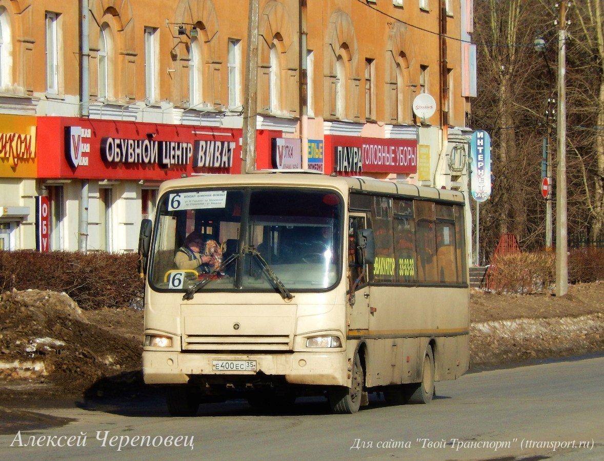 Череповец. ПАЗ-320401 е400ес