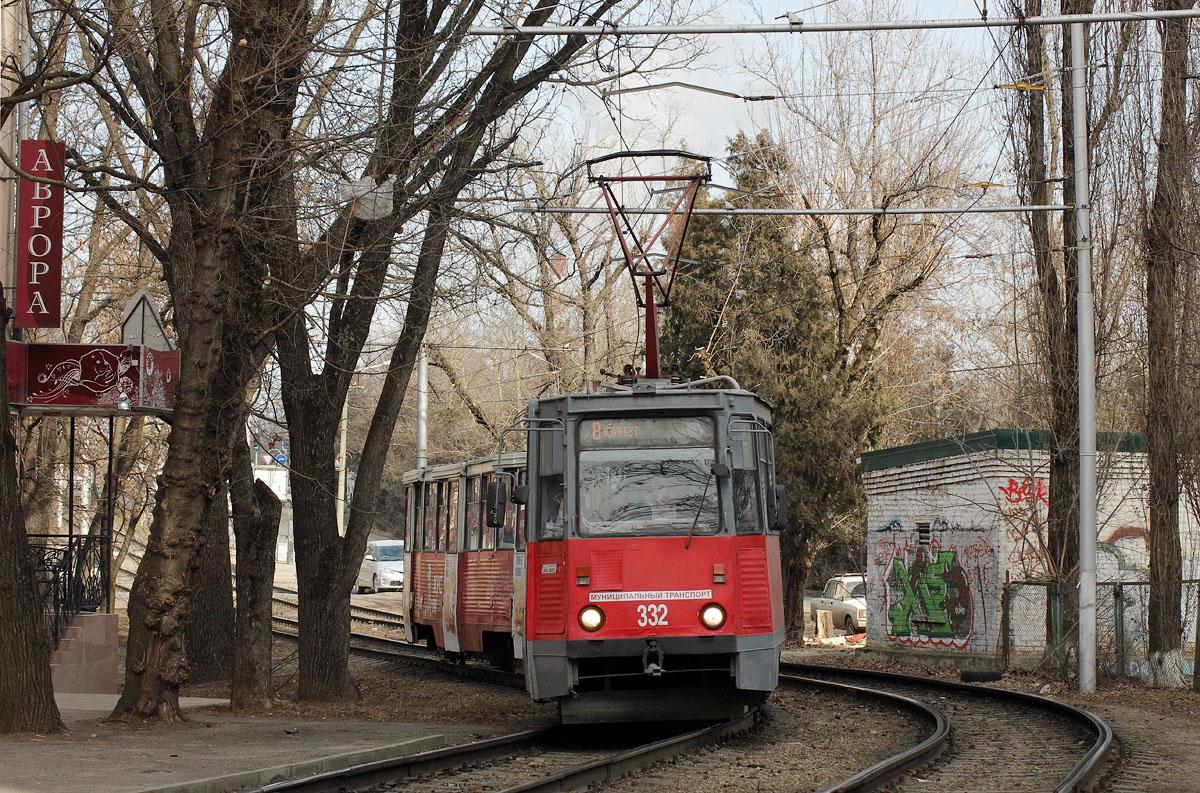 Краснодар. 71-605 (КТМ-5) №584, 71-605 (КТМ-5) №332