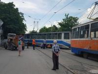 Таганрог. 71-608КМ (КТМ-8М) №363, 71-605 (КТМ-5) №304