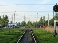Санкт-Петербург. Подъездной путь ЛЭМЗ и таможенного терминала «Элит-Транс» от станции Лигово