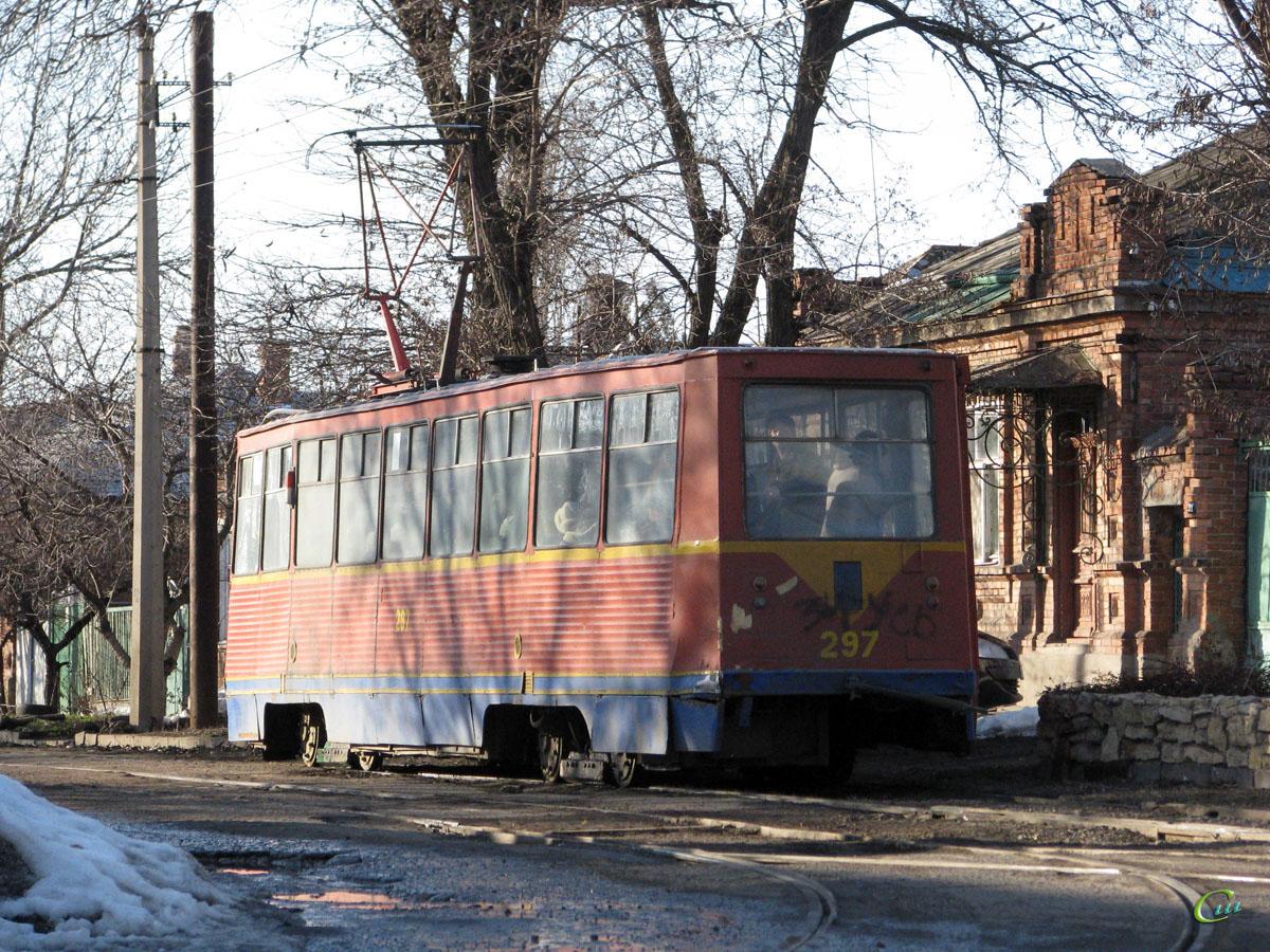 Таганрог. 71-605 (КТМ-5) №297