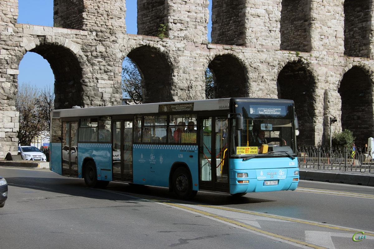 Стамбул. MAN A74 Lion's Classic 34 ZL 7157