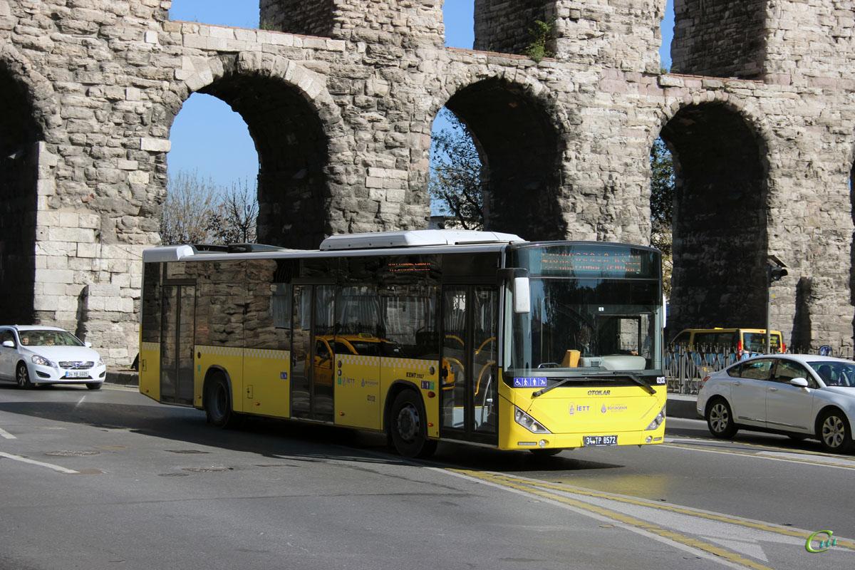 Стамбул. Otokar Kent 34 TP 8572