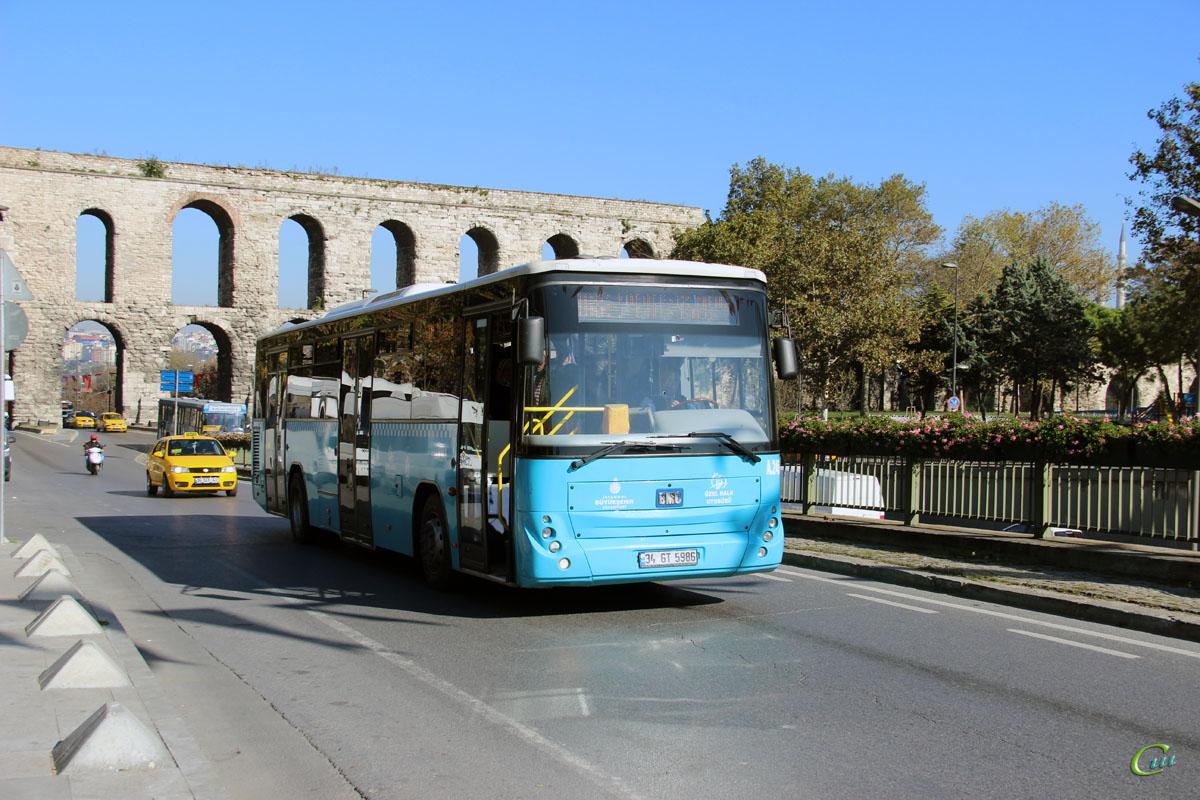 Стамбул. BMC Belde 34 GT 5986