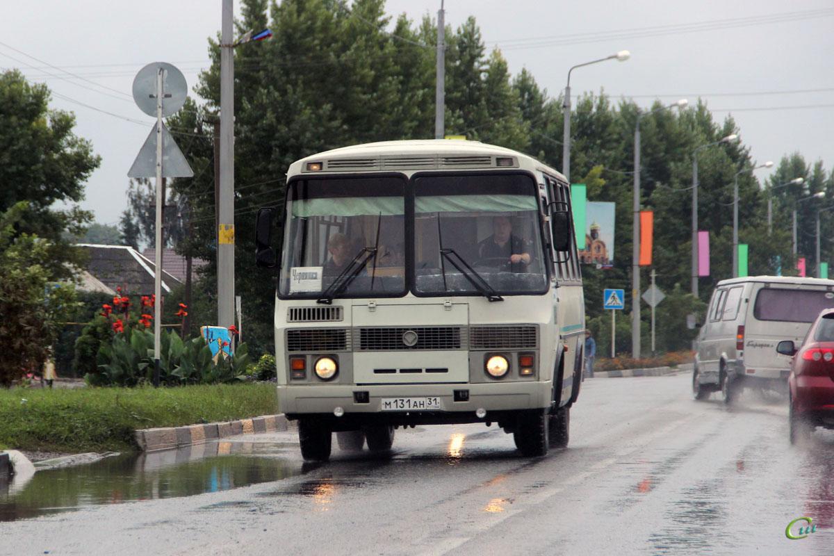 Старый Оскол. ПАЗ-32053 м131ан