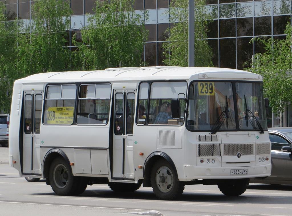 Курган. ПАЗ-320540-22 н635ме