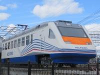 Курган. Электропоезд-памятник ЭР2-Аллегро