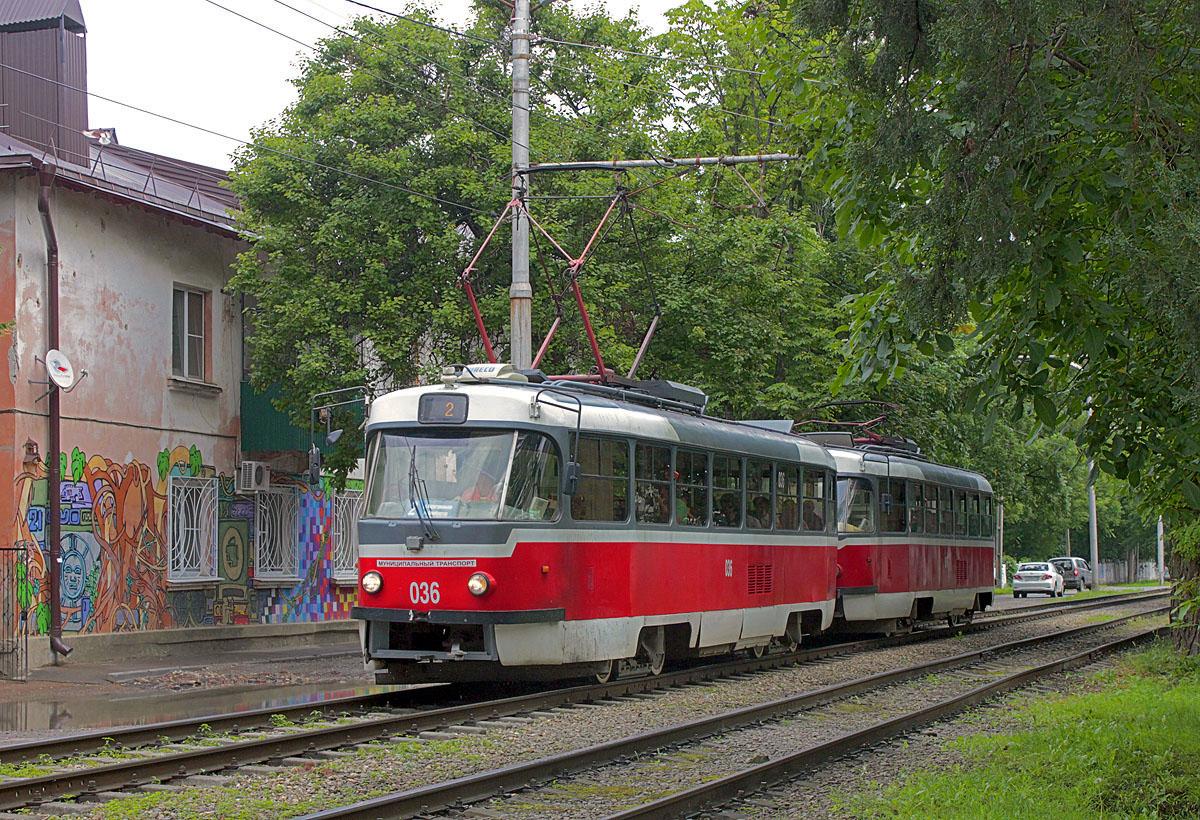 Краснодар. Tatra T3SU №006, Tatra T3SU №036