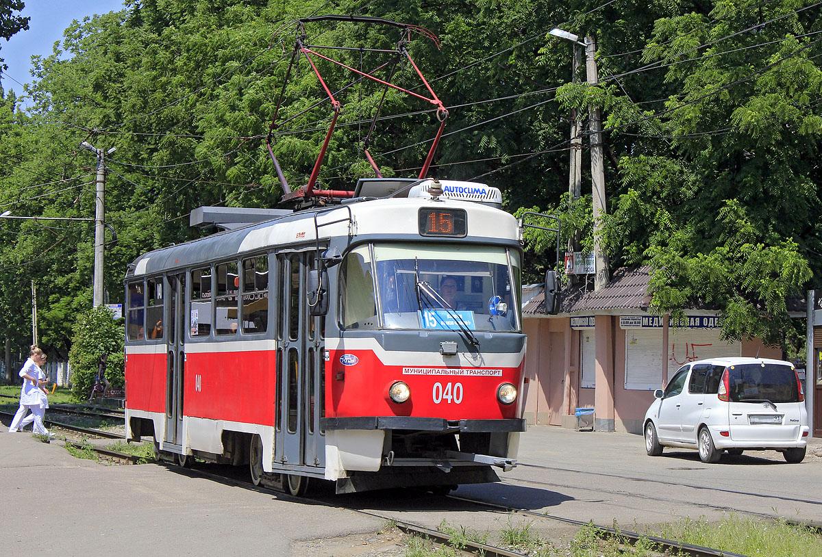 Краснодар. Tatra T3SU №040