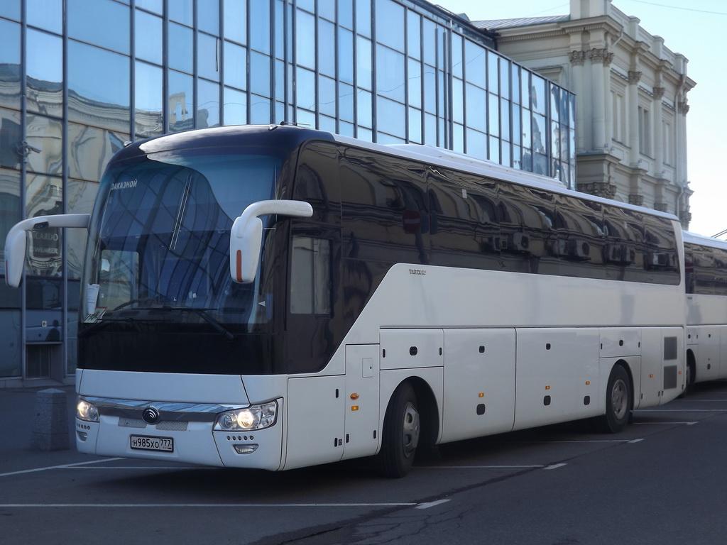 Москва. Yutong ZK6122H9 н985хо
